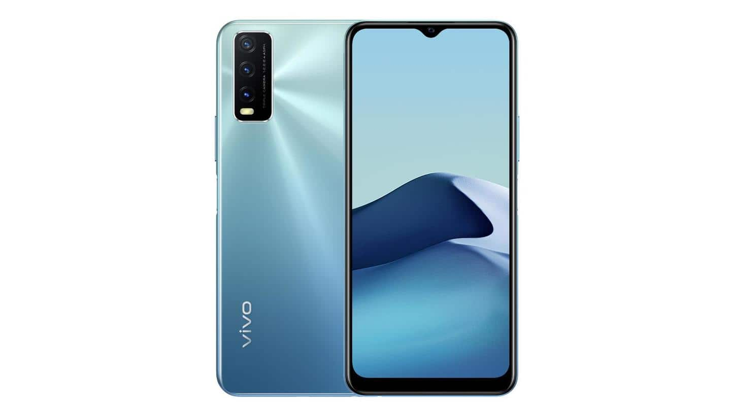 Vivo Y20G launched in India at Rs. 15,000