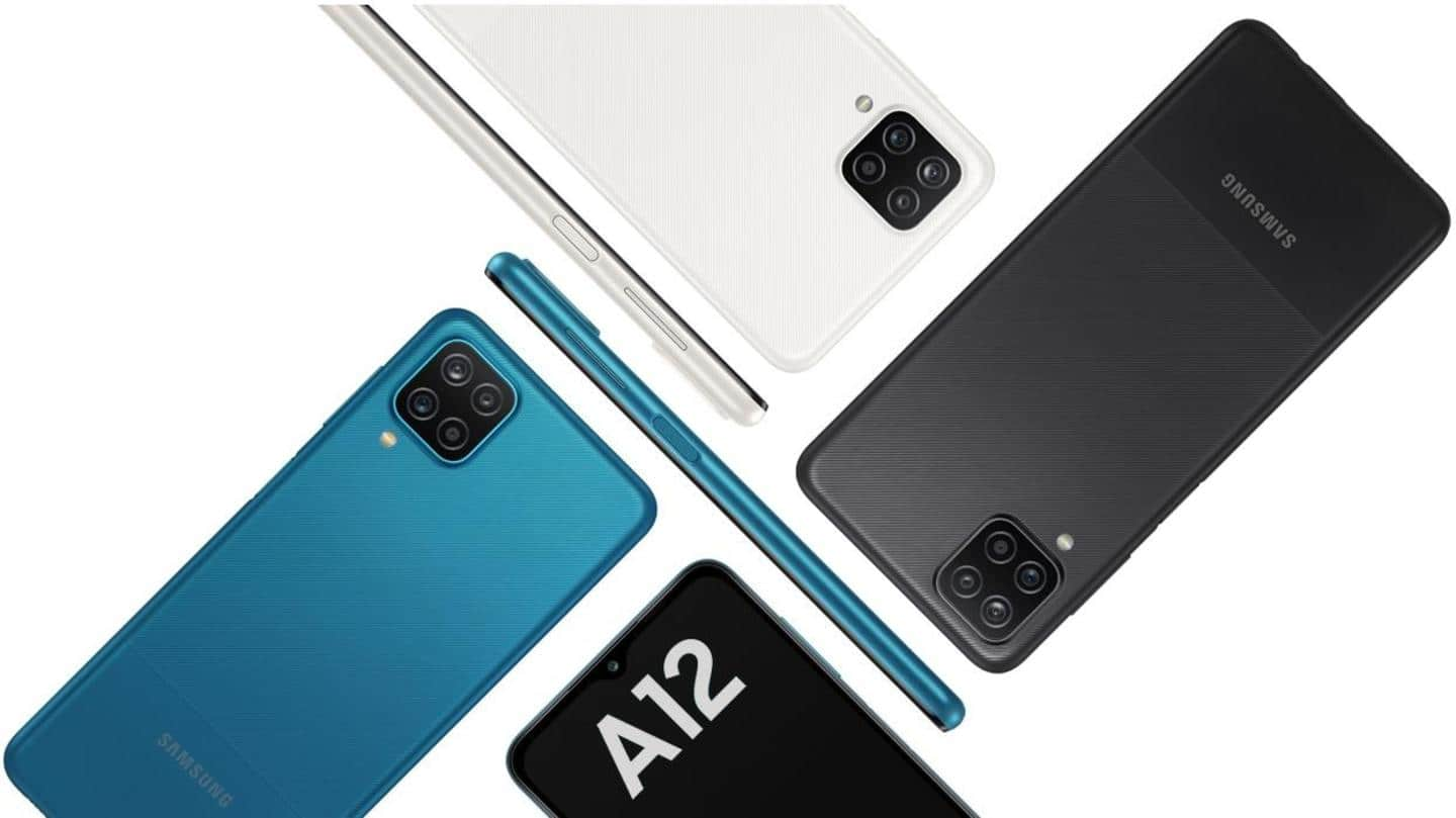 Samsung Galaxy A12 launched in India at Rs. 13,000