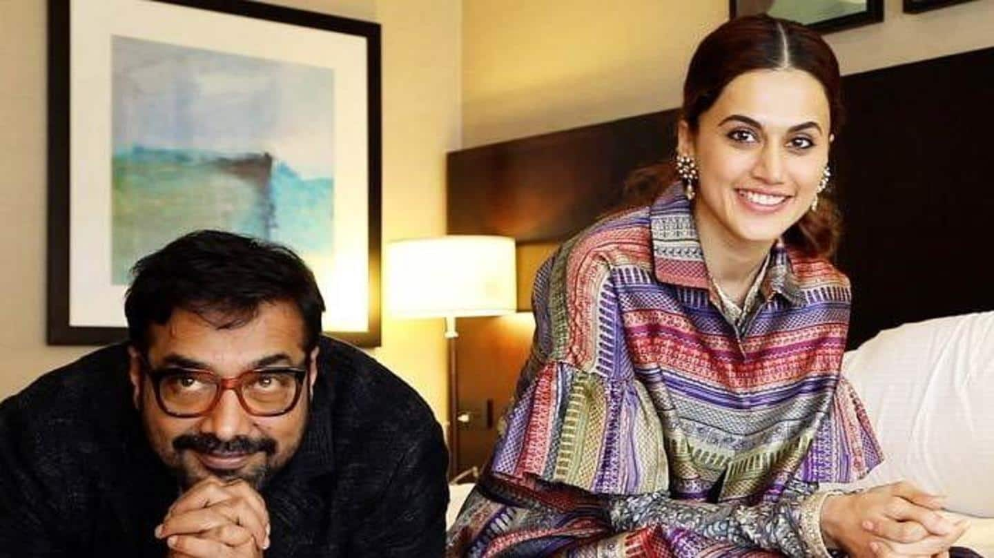 Income Tax raids at Taapsee Pannu, Anurag Kashyap's properties