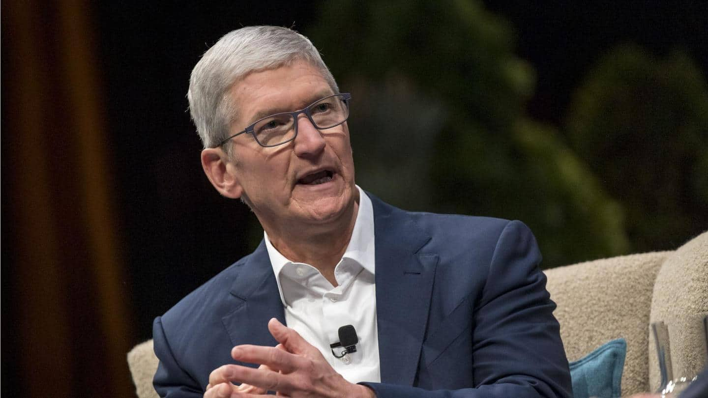 US official calls Tim Cook's voting on iPhone suggestion 'preposterous'