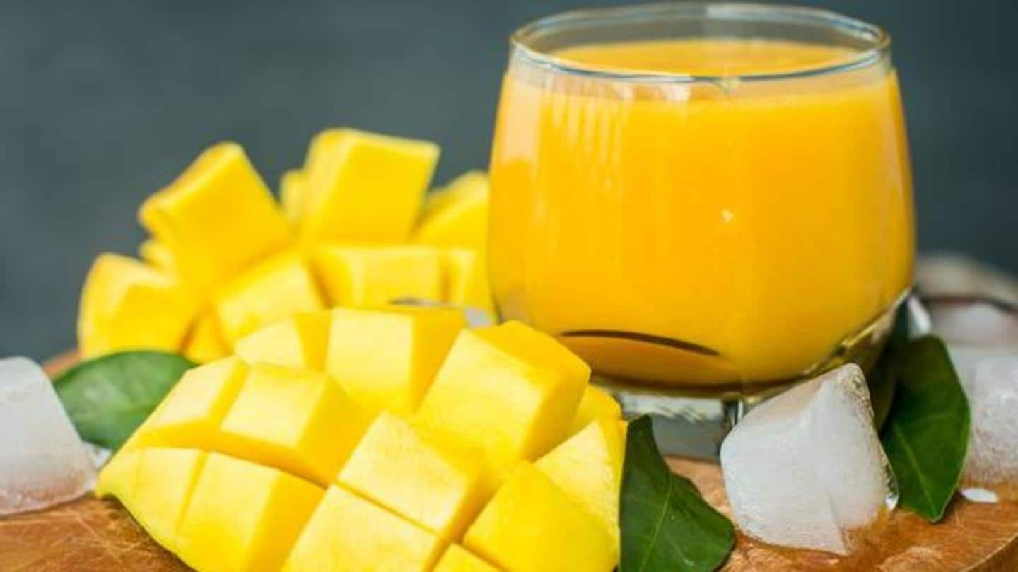 Summer is already here! Try these yummylicious mango drinks
