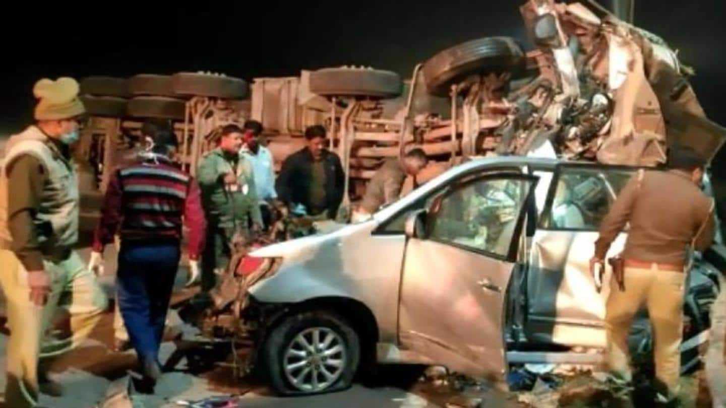 Accident took place within limits of Naujheel Police station