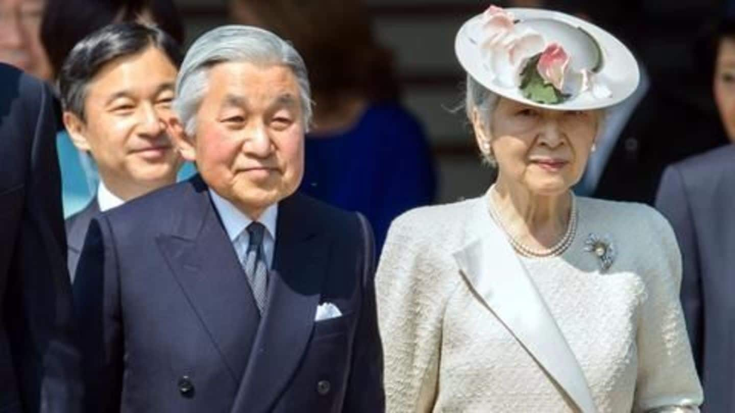 Japanese Emperor Akihito may be abdicated