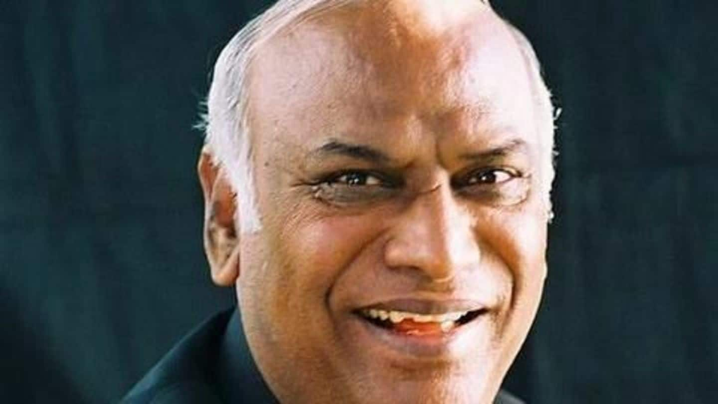 Mallikarjun Kharge against Alok Verma's appointment