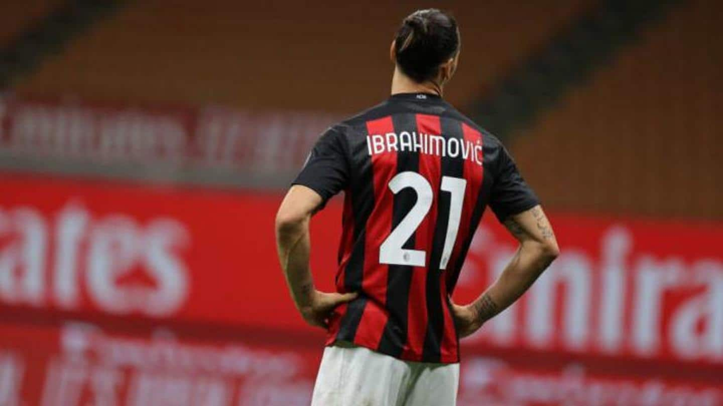 Zlatan's absence a blow for Milan against United