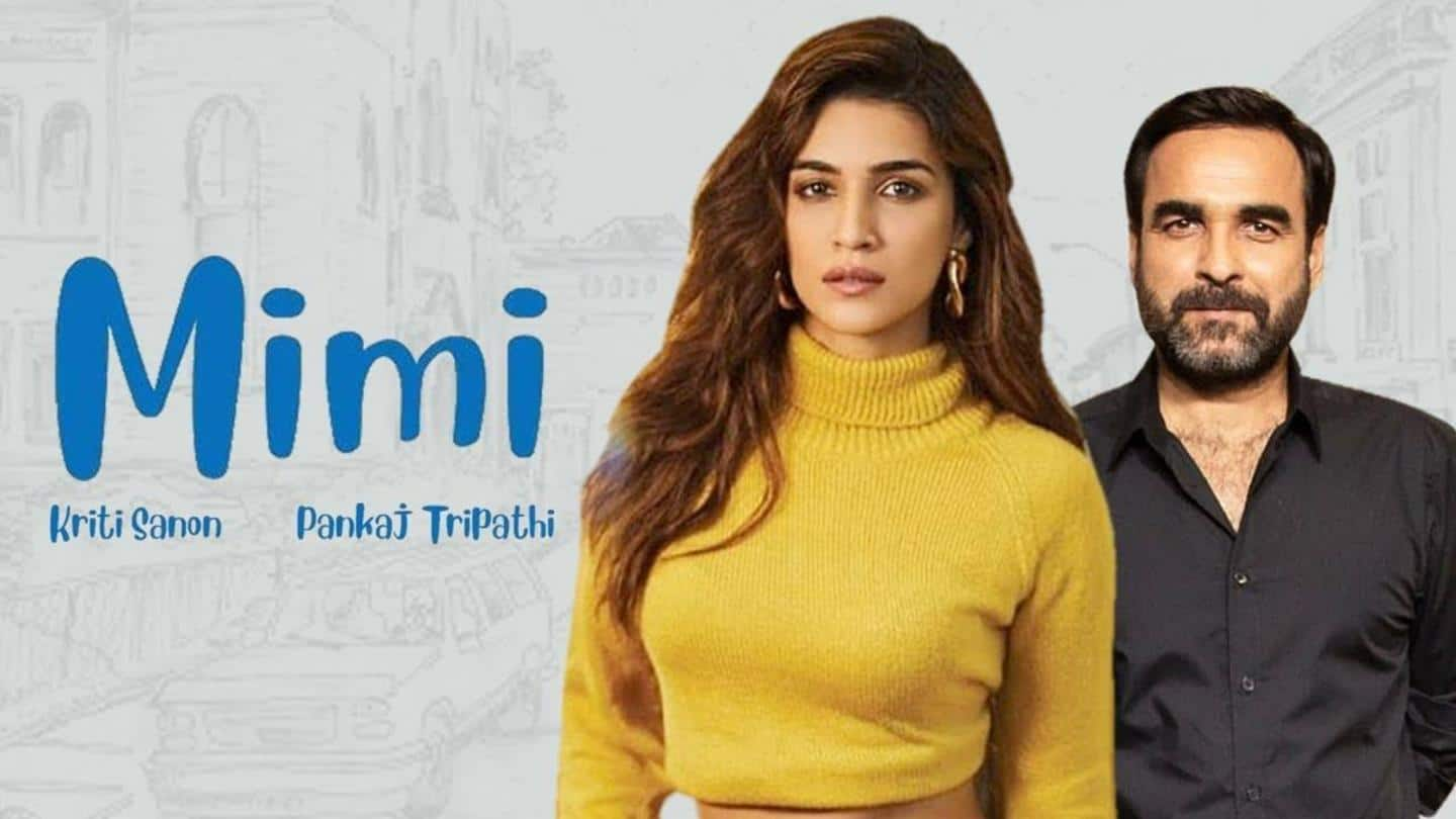 Mimi' first look: Kriti Sanon is pregnant and shocked! | NewsBytes
