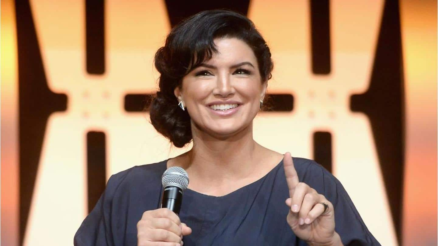 Not the first one: Gina Carano says Disney 'bullied' her