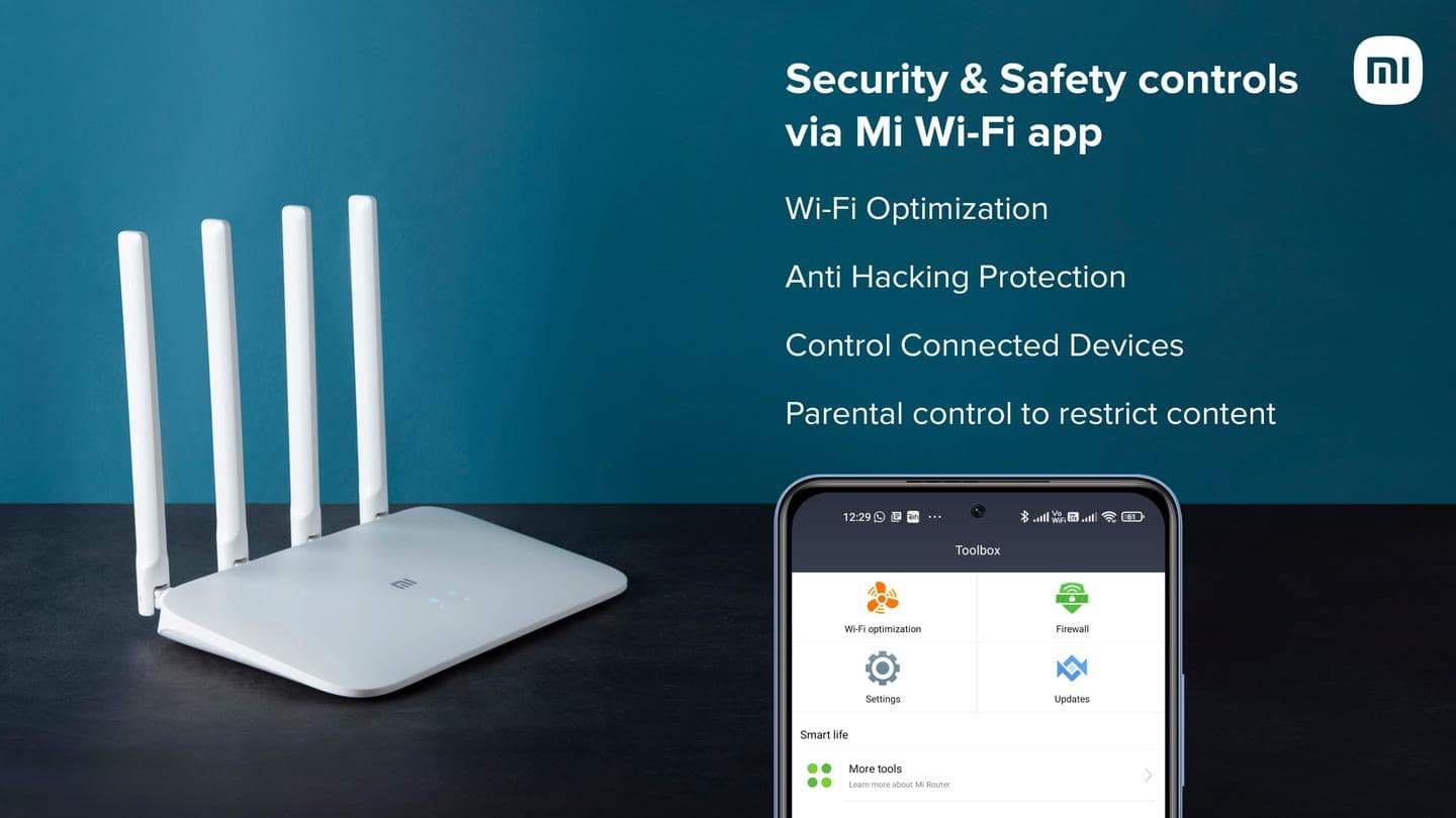Mi Router 4A can connect with up to 128 devices