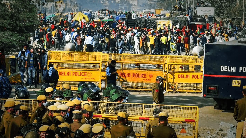 Farmers' protest: Key Delhi borders stay closed; traffic diverted