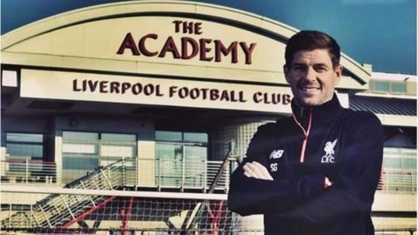 Liverpool hires Steven Gerrard as youth coach