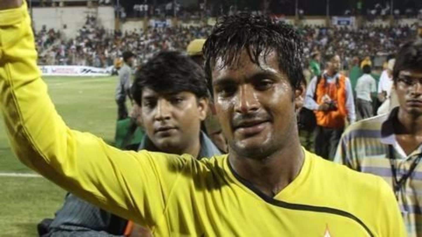 Doping charges: Goalkeeper Subrata Paul escapes with a warning