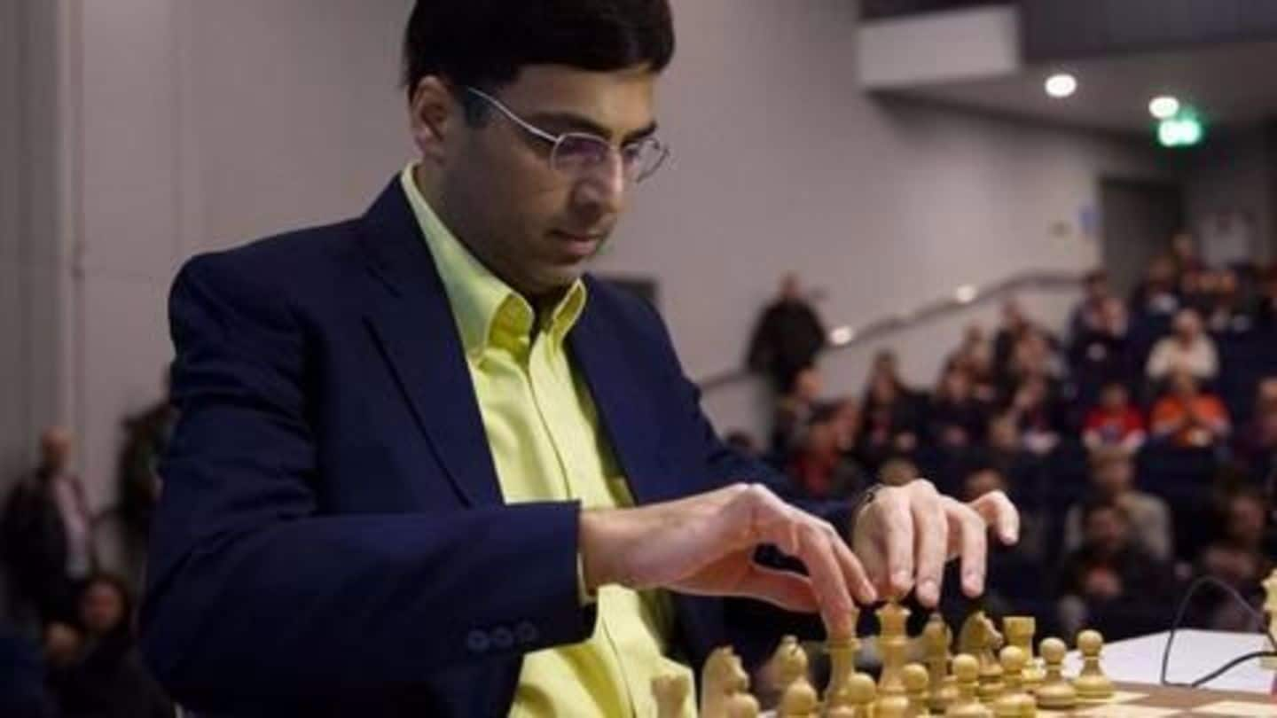 Viswanathan Anand takes a break to focus on World Cup