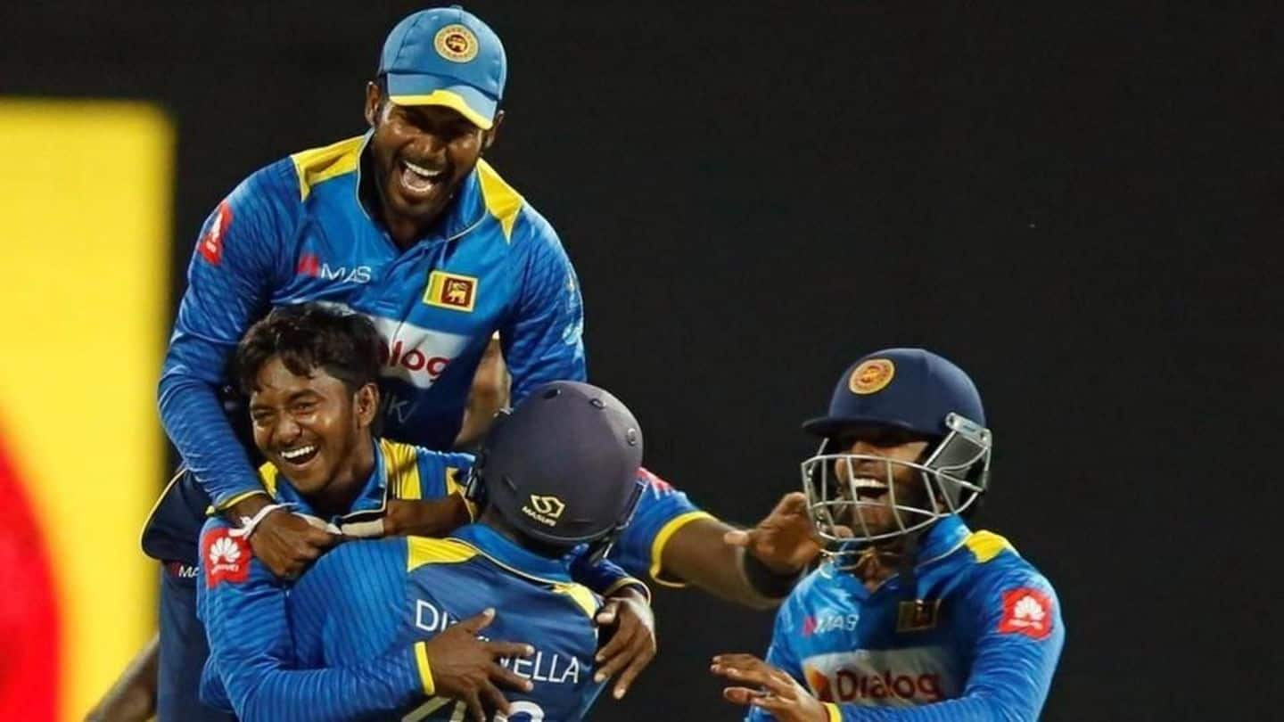 Sri Lanka qualify for the 2019 World Cup at last