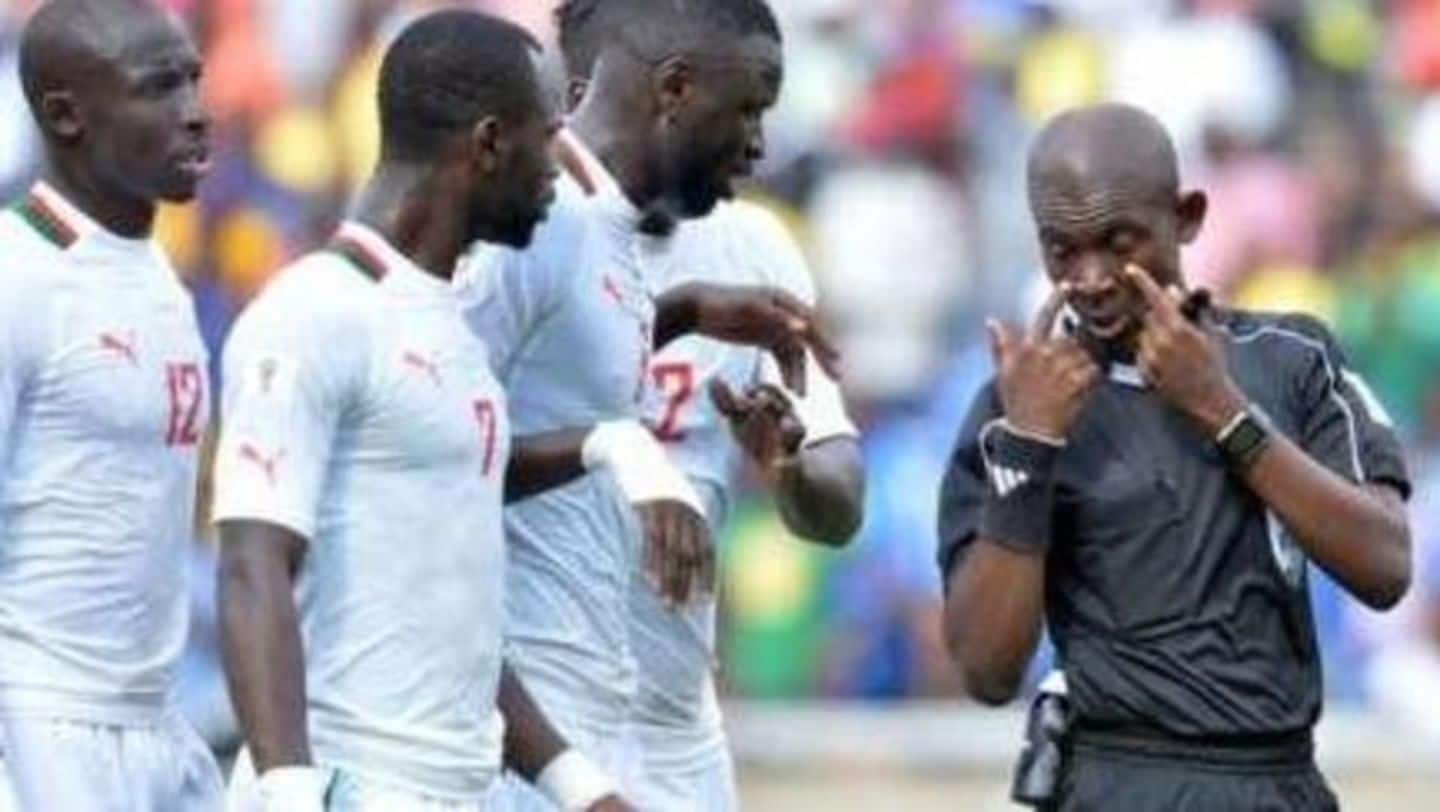 South Africa vs Senegal World Cup qualifier to be replayed