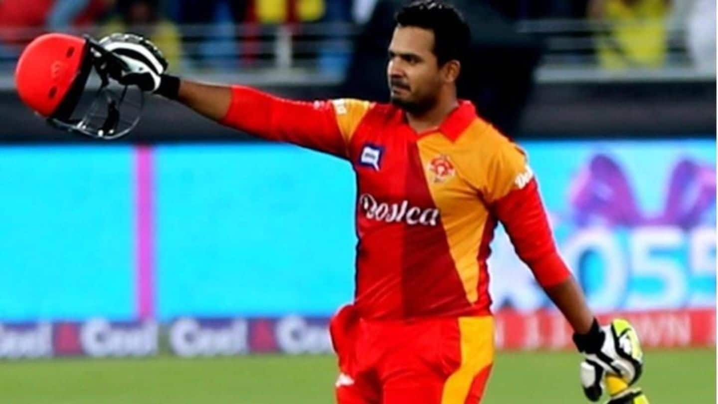 Pak cricketer Sharjeel Khan gets a 5-year ban for spot-fixing