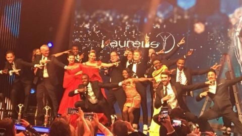 Usain Bolt wins Laureus World Sportsman of the Year