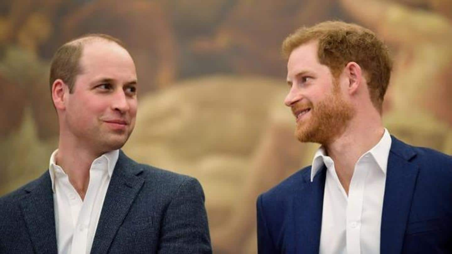 I love William to bits, Harry said during the interview