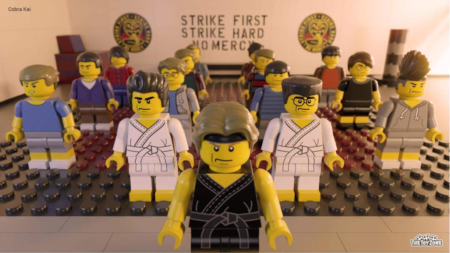 Dojo from 'Cobra Kai' also recreated, slogan and everything