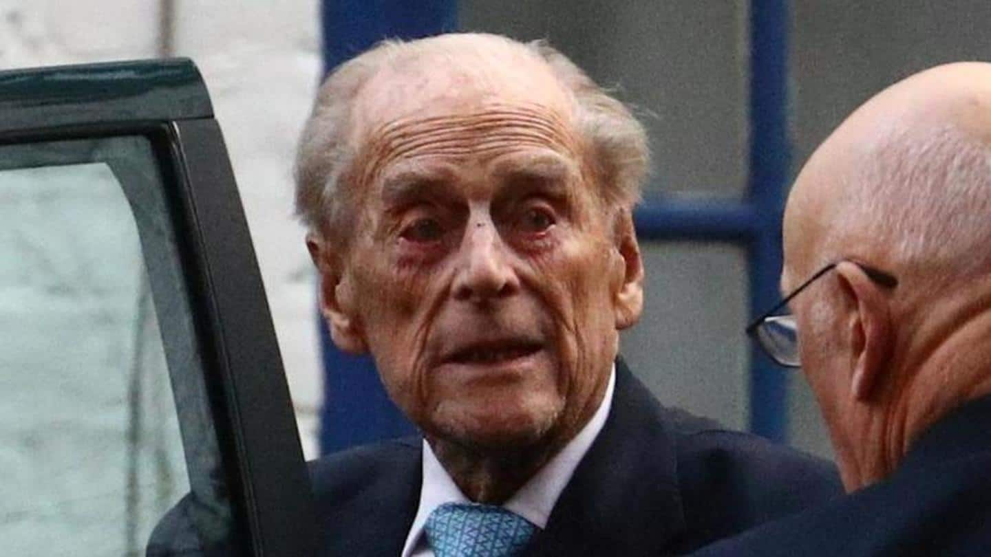 Prince Philip remains comfortable: Buckingham Palace