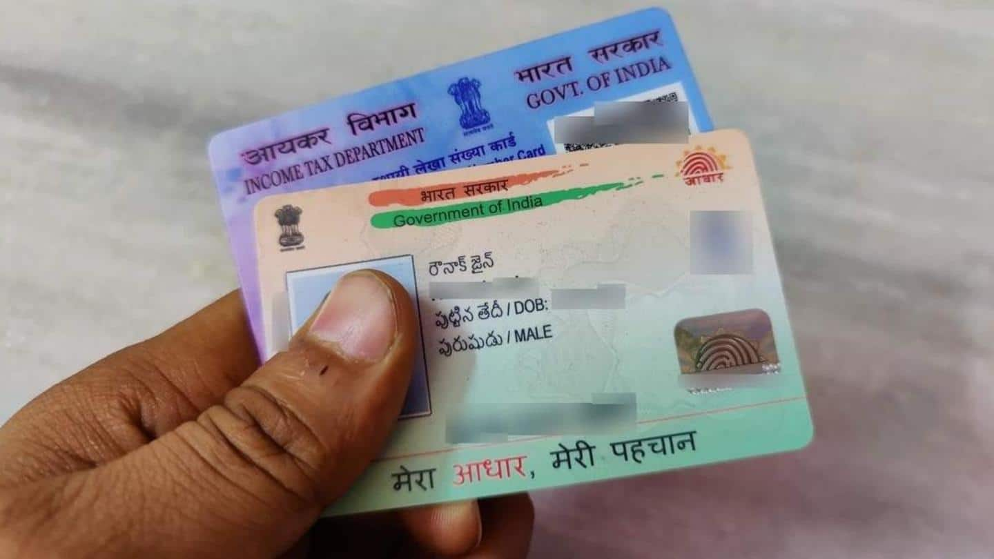 Deadline for linking Aadhaar and PAN extended till June 30