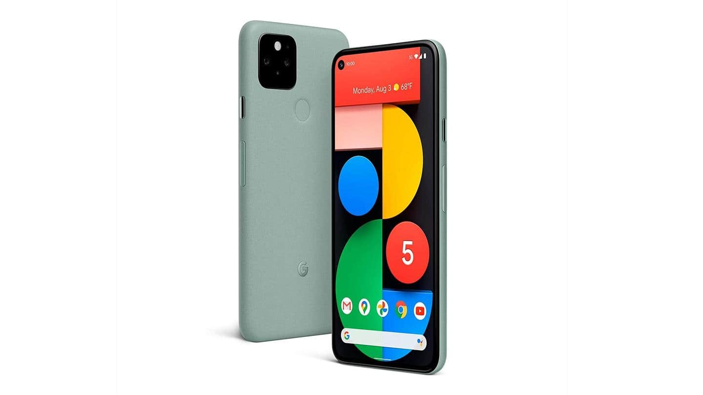 Google's April 2021 update significantly boosts Pixel 5's performance