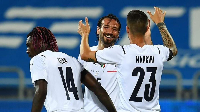 Grande spettacolo per l'Italia che batte San Marino