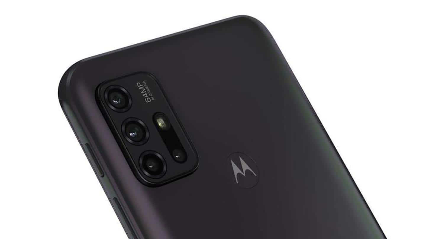 Moto G30 sports a 64MP main camera