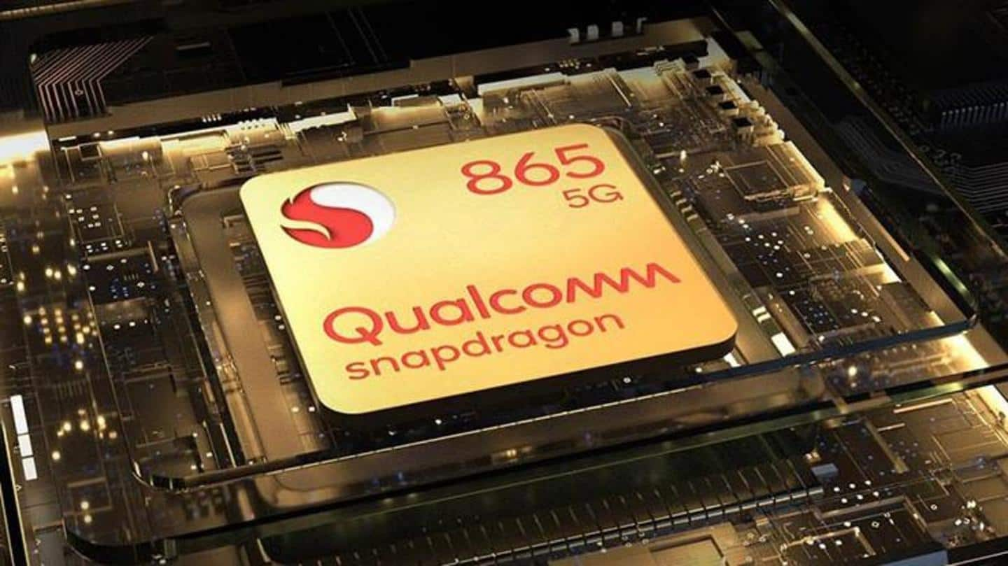 It is equipped with a Snapdragon 865 processor