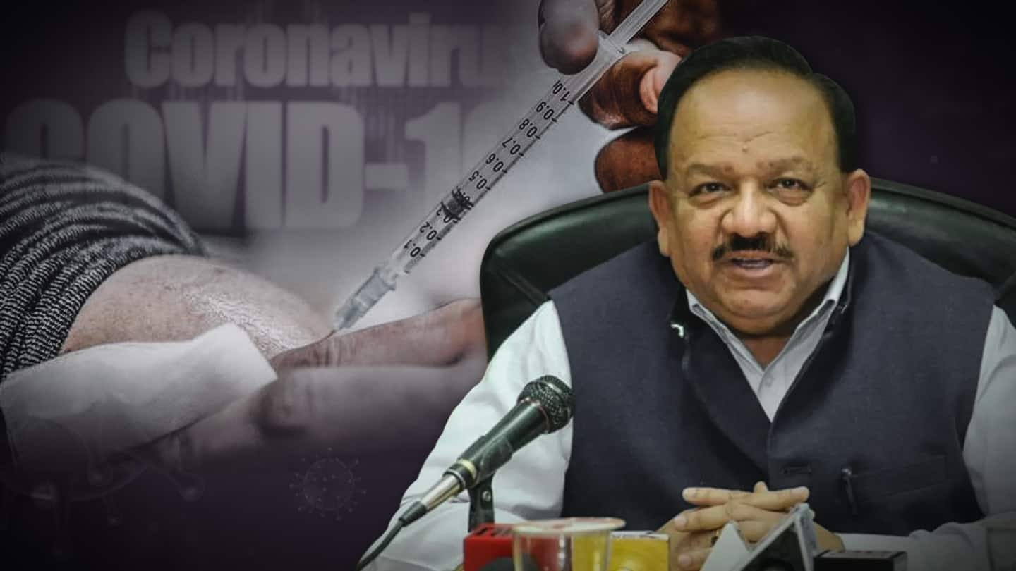 Get COVID-19 vaccine jab 24x7 at your convenience: Health Minister
