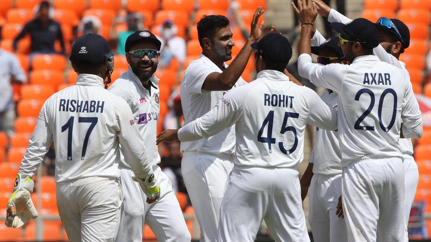 India vs England: Axar, Ashwin strike; visitors lose six wickets