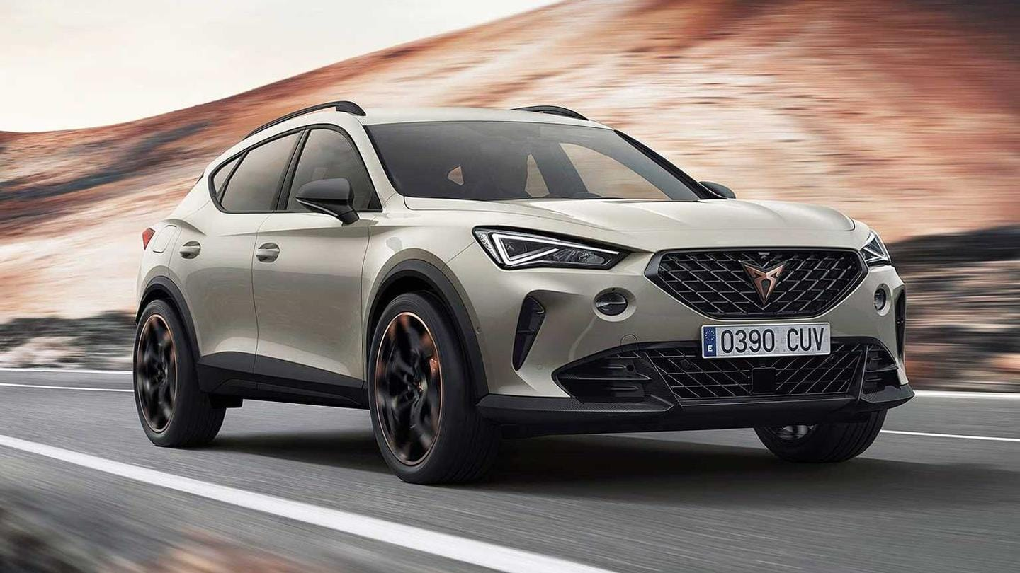 Limited-run Cupra Formentor VZ5 SUV revealed: Details here