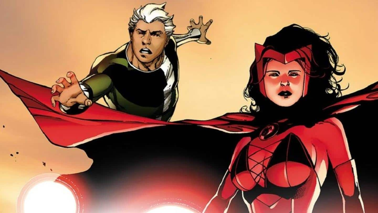 Quicksilver and Scarlet Witch: Marvel's most dynamic sibling duo