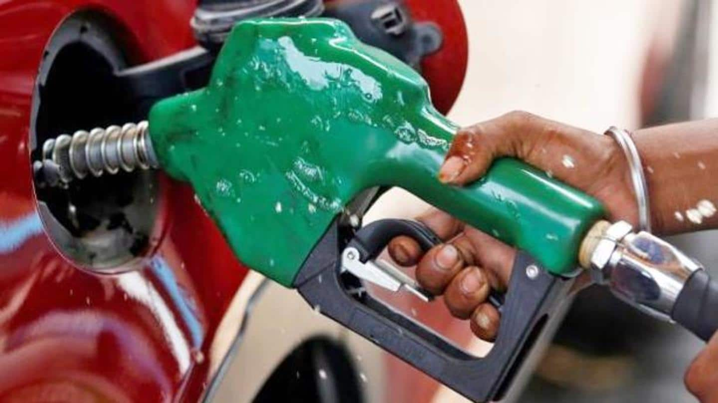 Petrol and diesel prices cut for the second straight day