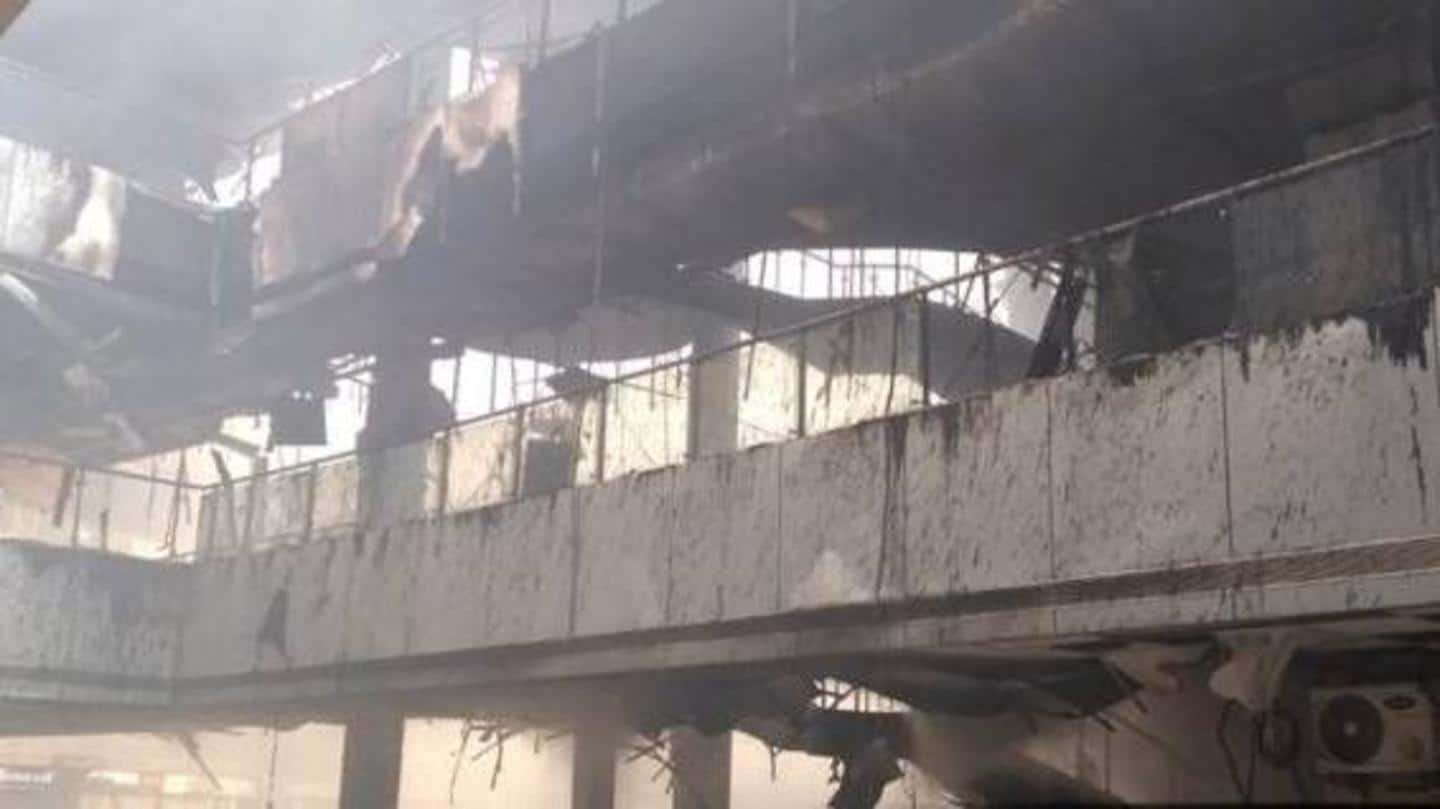 Mumbai: Ten dead in hospital fire, says fire department official
