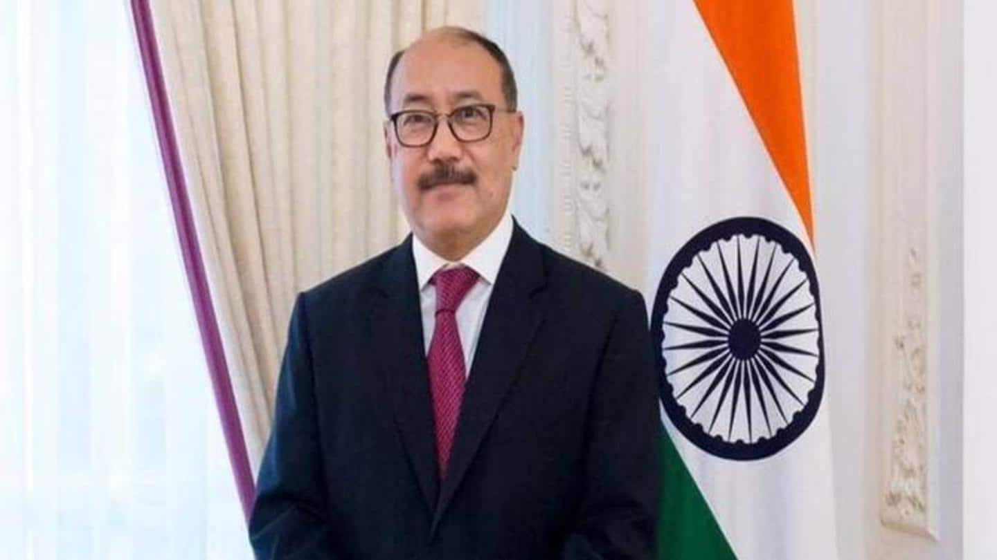 Foreign Minister Harsh Vardhan Shringla meets with senior US officials