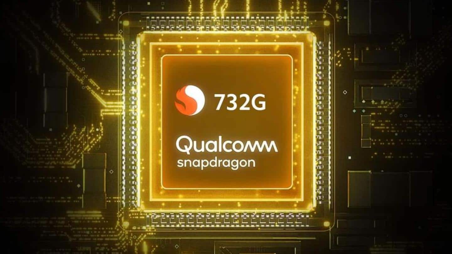 It will be powered by a Snapdragon 732G processor