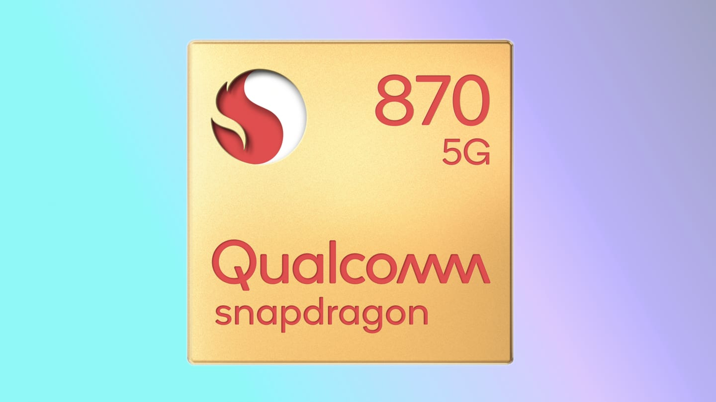 The handset will be backed by a Snapdragon 870 chipset