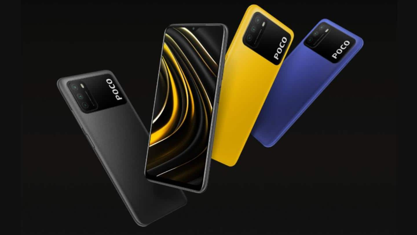 Over 2.5 lakh units of POCO M3 sold in India