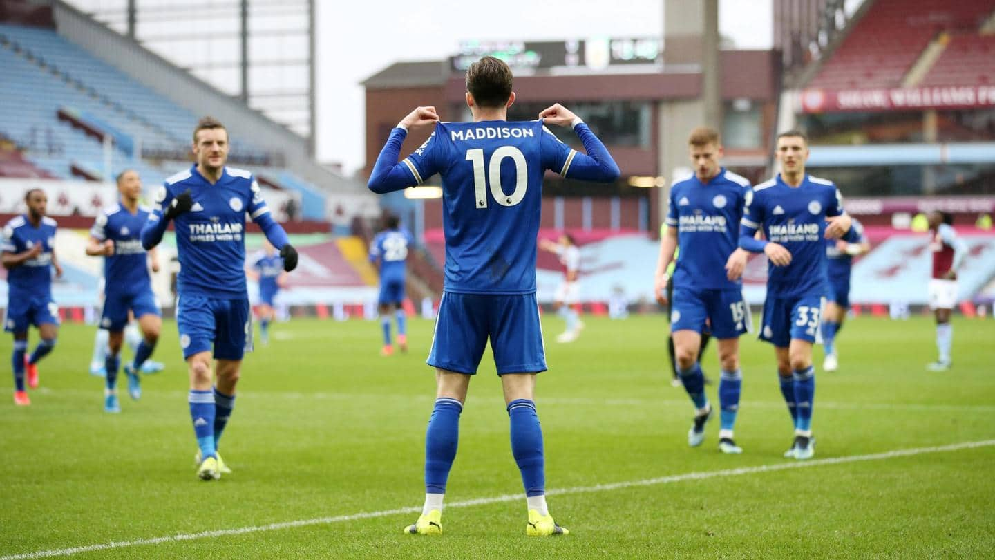 United and Leicester City will aim to seal positions