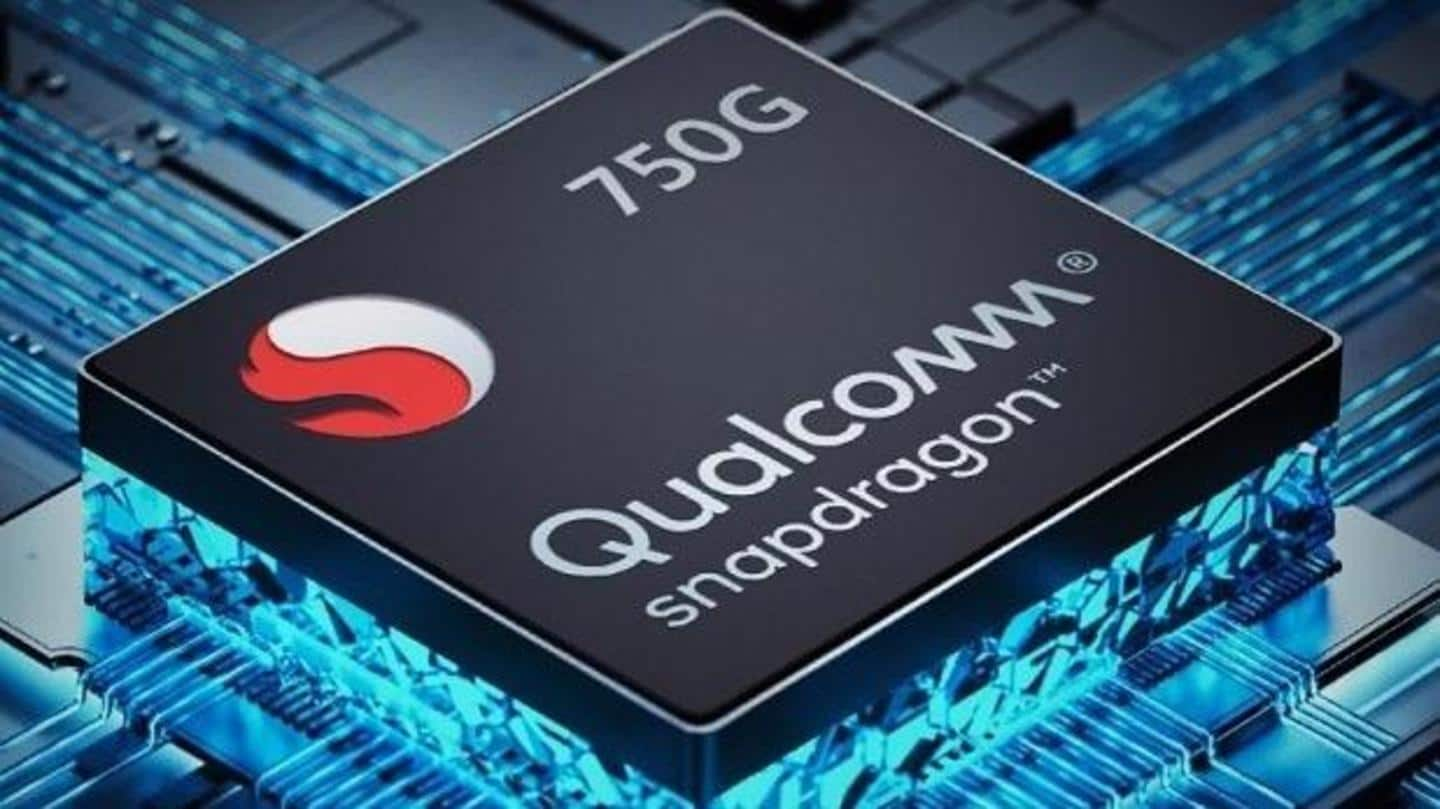 It will be powered by a Snapdragon 750G processor