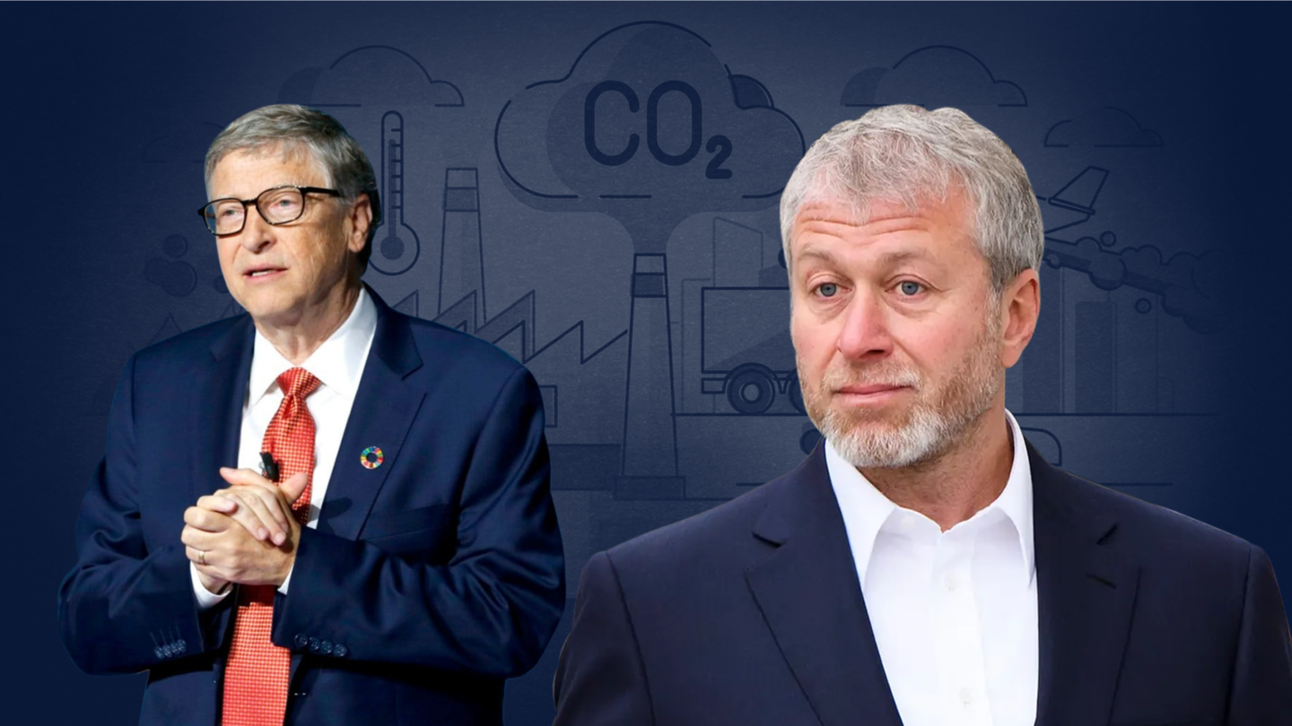 Bill Gates's book draws attention to billionaires' colossal carbon footprint