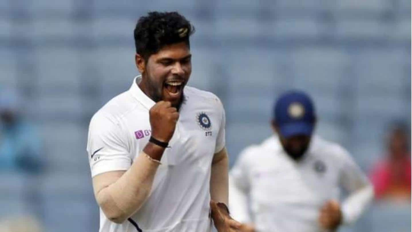 Umesh Yadav cleared to play the third Test