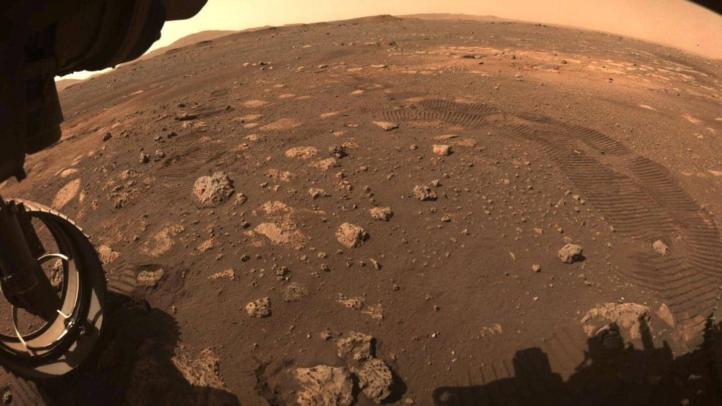 NASA's Perseverance rover completes first test drive on Martian soil