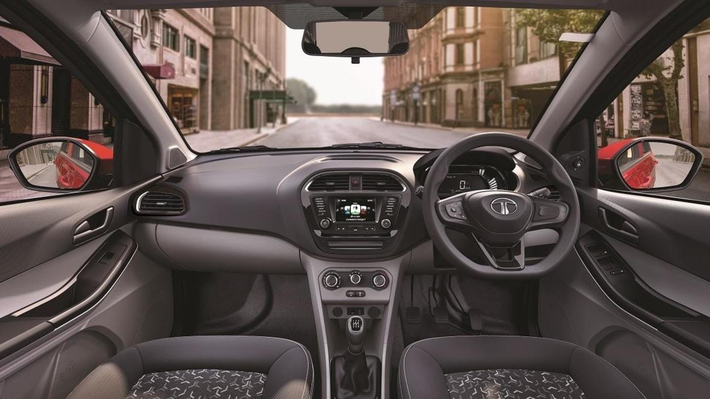 It gets an infotainment console with voice command support
