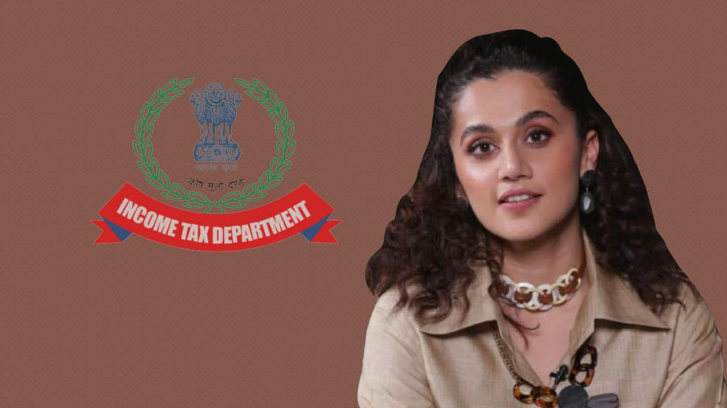 'Not so sasti anymore': Taapsee Pannu on Income Tax raids