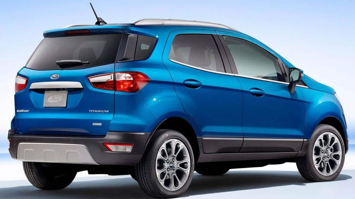 Ford to launch EcoSport SE variant without tailgate spare wheel