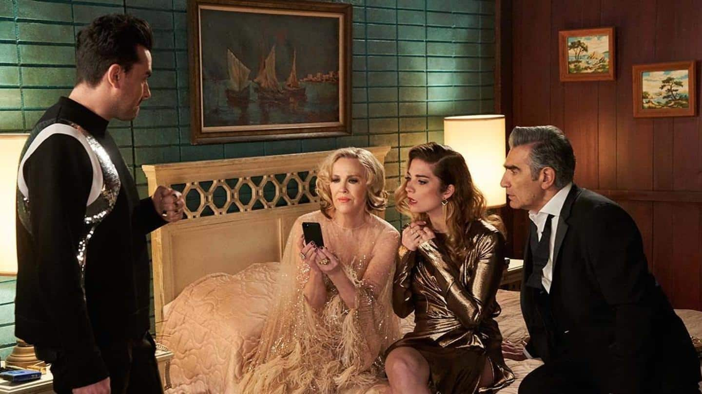 'Schitt's Creek' labeled as 'Best Series' in Musical/Comedy category