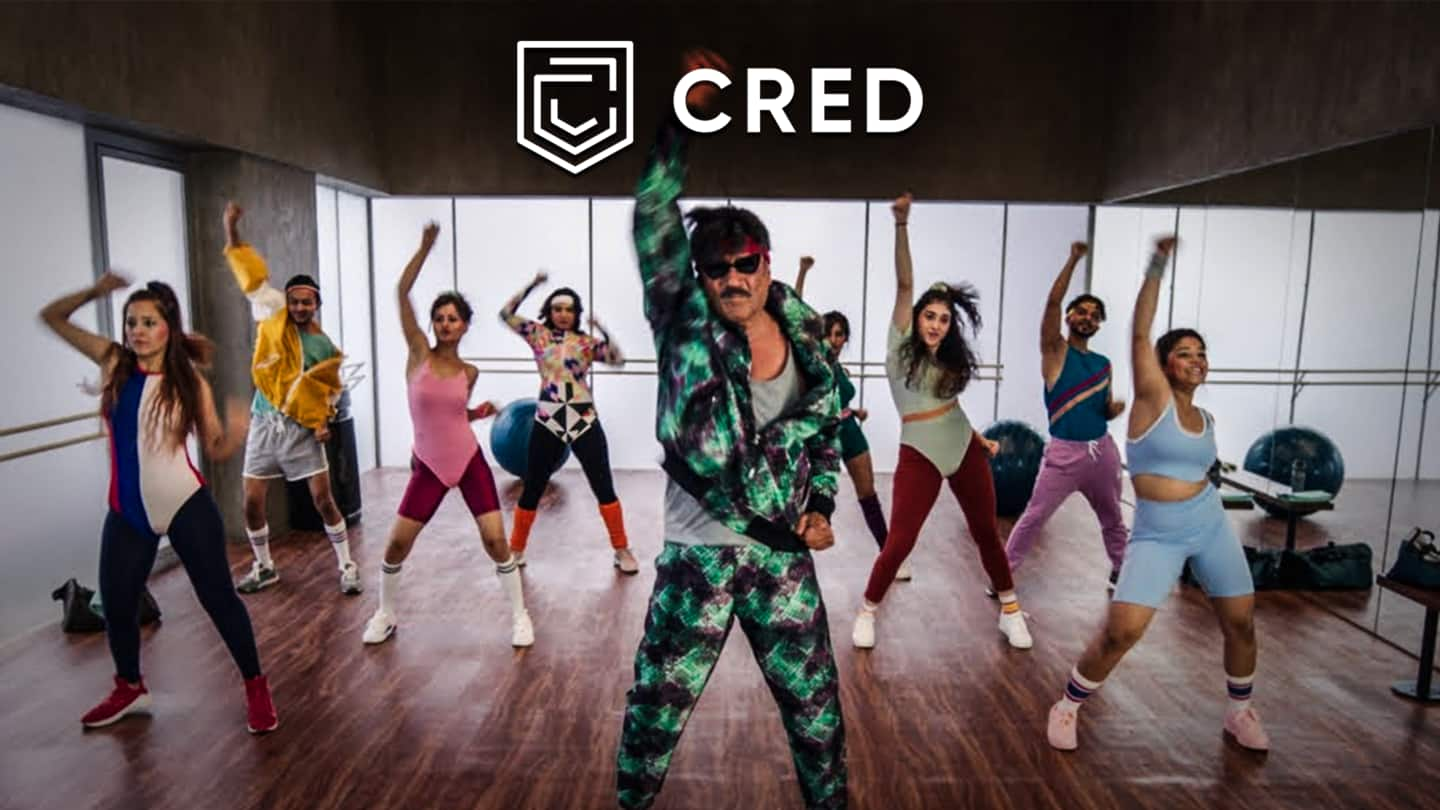 Jackie Shroff does Zumba in CRED advertisement, Anil Kapoor reacts