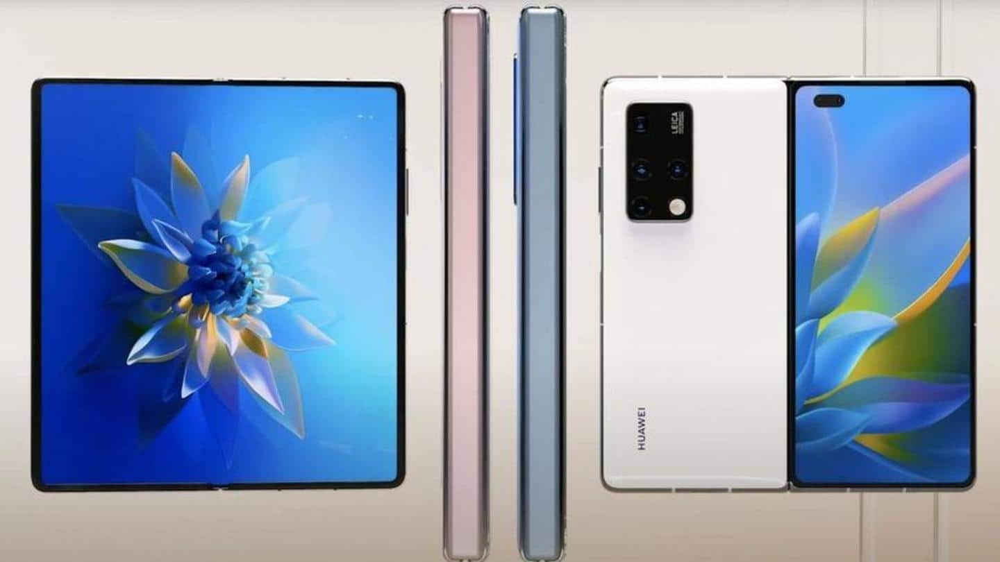 Huawei Mate X2 comes with two 90Hz displays