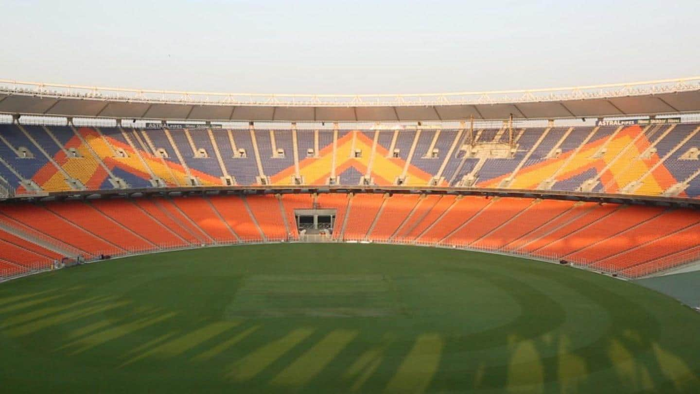 India vs England: Motera Stadium renamed Narendra Modi Stadium